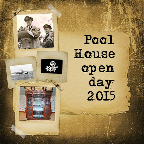 Advert created for Pool House open day