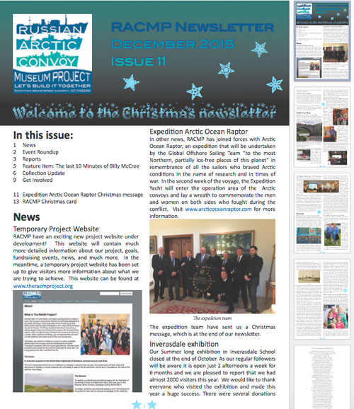 Newsletter for RACMP